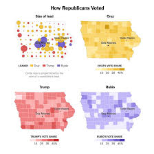2016 Election Prediction Map by Winning The Primary Election With Data Visualization Ux Magazine