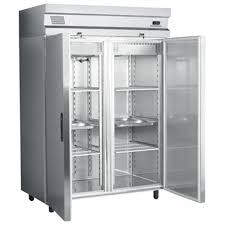 chambre froide professionnel armoire refrigeree inox ventilee positive 2 portes gn 2 1 1417 l