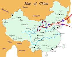 Shenzhen China Map Inner Mongolia Ningxia Map 161009 Air U0026 Sea Travel Center