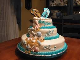 beach theme wedding shower cake cakecentral com