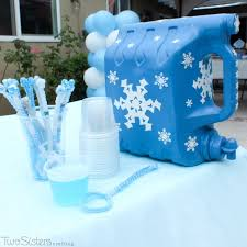 frozen party 25 ideas for an amazing frozen party two crafting