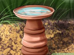 Flower Pot Bird Bath - 3 ways to make a bird bath wikihow