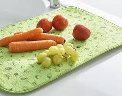 protege evier cuisine tapis d évier absorbant becquet