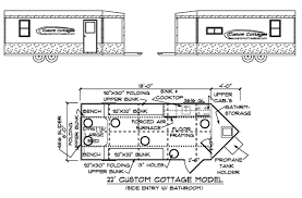 house designs with floor plan custom cottages inc mobile shelter design for ice fishing