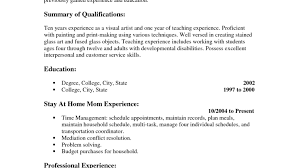mesmerize tags verbs for resumes resumes for stay at home moms