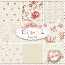 Shabby Chic Quilting Fabric by Ambleside 7 Fq Set Willow By Brenda Riddle For Moda Fabrics