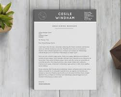 Apple Pages Resume Templates Free Cesile Windham Resume Template Stand Out Shop
