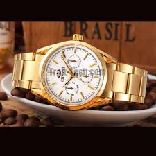 mens watches with bracelet images Chenxi 006b luxury full of gold men watches stainless steel quartz jpg