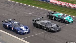 maserati mc 12 3x maserati mc12 gt1 on track epic sounds youtube
