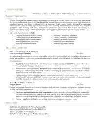 Example Resume For Teacher 100 Sample Resume Experienced Teacher 25 Best Teacher