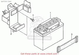 honda z50j1 monkey japan battery tray schematic partsfiche