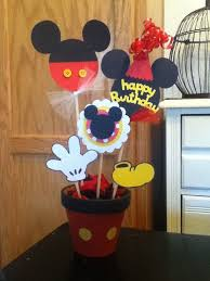 Mickey Mouse Center Pieces Mickey Mouse Birthday Party Centerpiece Fiesta Mickey Mouse