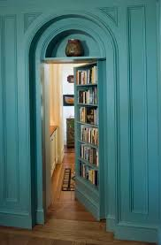Diy Hidden Bookcase Door Secret Bookcase Door Diy Home Design Ideas