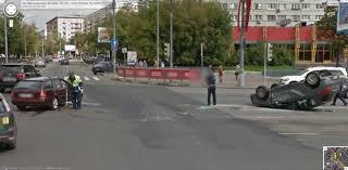 another bad accident from russia google street view world