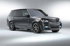 luxury range rover range rover modified by overfinch