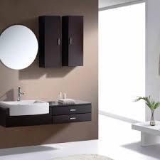 Wall Mounted Bathroom Cabinet by Bathroom Gray Wall Mounted Bathroom Vanity With Top And Brizo