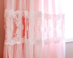 apricot curtains etsy