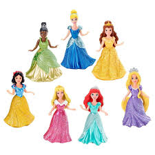 disney princess kingdom doll magiclip collection 7 pack