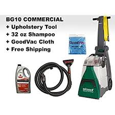 Upholstery Cleaners Machines Amazon Com Bissell Bg10 Big Green Deep Cleaning Machine With