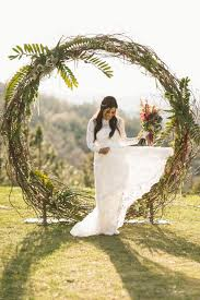 wedding ceremony arch circle and semi circle arch wedding party rentals in san diego ca