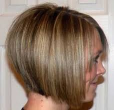 short stacked haircuts for fine hair that show front and back short bobs for thin hair with stacked cute highlights bobs 10