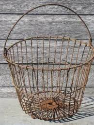 egg baskets vintage storage baskets antique egg baskets industrial locker