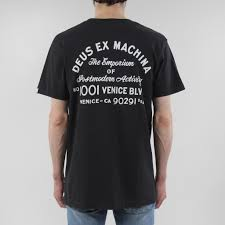 deus ex machina venice la address t shirt deus ex clothings
