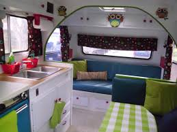 our cute camp trailer we just remodeled camp trailers