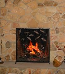 kokopelli fireplace screen