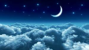 lullaby moon and clouds