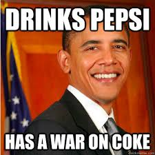 Coke Meme - president of a country with the largest military industrial complex