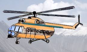 how to draw a helicopter draw step by step