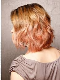 vies of side and back of wavy bob hairstyles beach wave loose wavy bob back view hairstyles pinterest