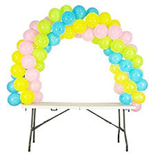balloon arch balloon arch kit adjustable for different table sizes