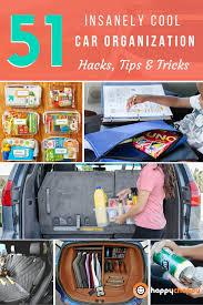 insanely cool car organization hacks tips u0026 tricks