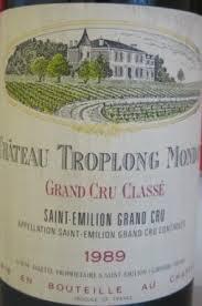 learn about chateau troplong mondot 1989 château troplong mondot bordeaux libournais st