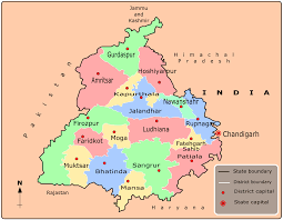 Map Of India Cities Cities Map Of Punjab U2022 Mapsof Net