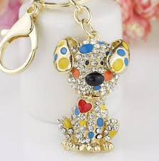 nice key rings images Red heart dog keychain nice cool jpg