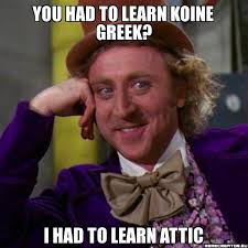 Greek Meme - meme rant found in antiquity