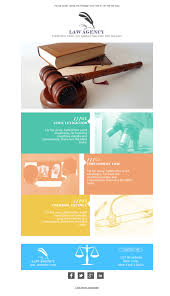 9 free and professional newsletter templates for legal services