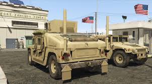 desert military jeep m1116 humvee up armored gta5 mods com