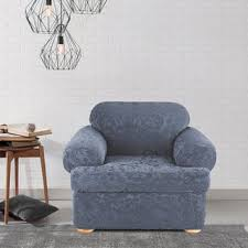 2 piece t cushion sofa slipcover two piece slipcovers u0026 furniture covers shop the best deals for