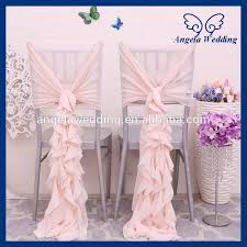 Ruffled Chair Covers Online Get Cheap Pink Ruffled Wedding Chair Covers Aliexpress Com