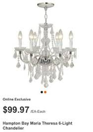 Maria Theresa 6 Light Crystal Chandelier I Love This And The Price Is Great 59 98 Not To Convince Jon