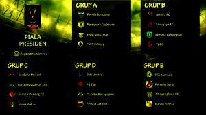 Jadwal Piala Presiden 2018 Jadwal Pembagian Grup Piala Presiden 2017