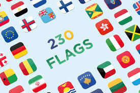 Flag Of Grenada 230 Square Vector Flags Icons Creative Market