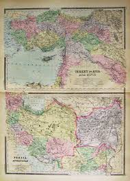 Asia Minor Map by Prints Old U0026 Rare Middle East