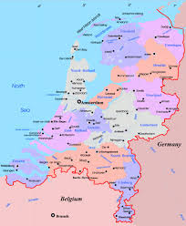 netherlands map cities large administrative map of netherlands with major cities