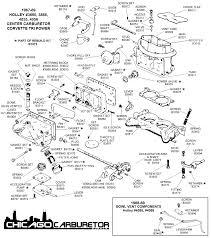 1967 69 tri power center carburetor diagram view chicago