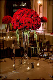 roses centerpieces stunning roses wedding centerpieces gallery styles ideas